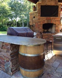 traditions pools & landscape bryan college station texas - outdoor kitchen design & construction project 6