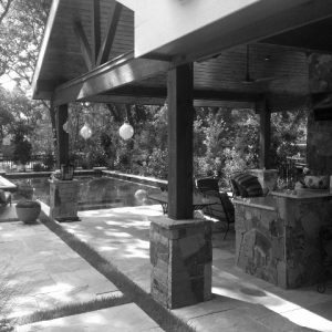 traditions pools & landscape bryan college station texas - outdoor kitchen/patio construction project 6