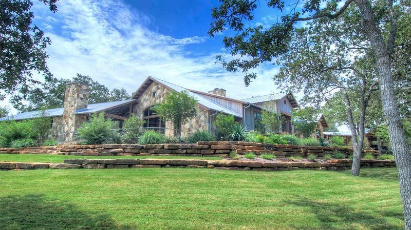 traditions pools & landscape bryan college station texas rock retaining wall construction & landscape design