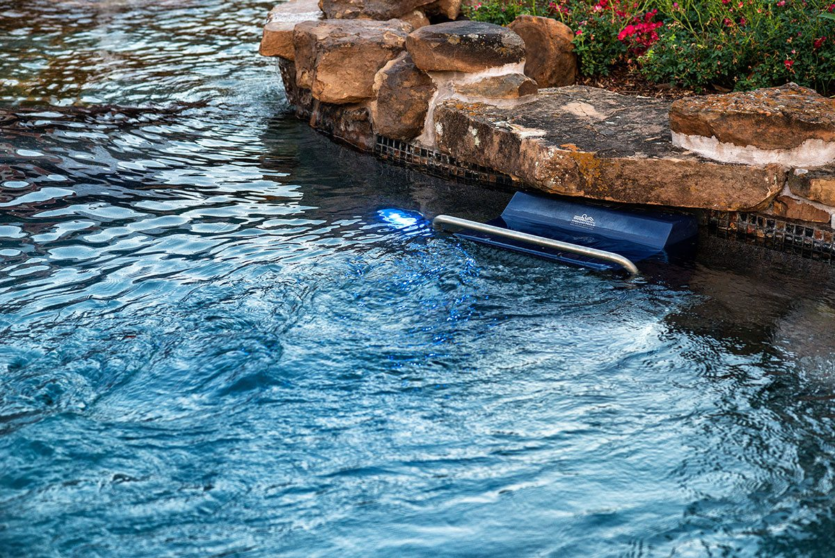 traditions pools & landscape bryan college station texas - swimming pool construction with swim simulator