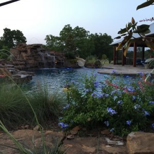 traditions pools & landscape bryan college station texas - custom swimming pool construction & landscaping design