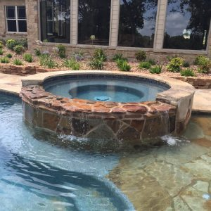 traditions pools & landscape bryan college station texas jacuzzi construction