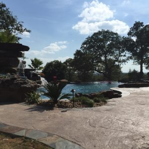 traditions pools & landscape bryan college station texas - custom swimming pool construction & landscaping design 2