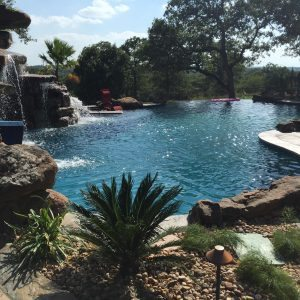 traditions pools & landscape bryan college station texas - inground swimming pool project 6