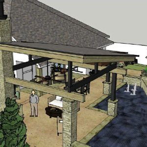 traditions pools & landscape bryan college station texas -outdoor kitchen & landscaping design & planning 4