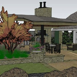 traditions pools & landscape bryan college station texas -outdoor kitchen & landscaping design & planning 1